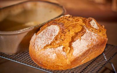 Dinkel-Joghurt-Brot mit Sauerteig