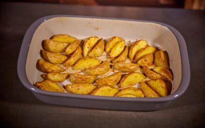 Ofenkartoffeln / Kartoffelspalten