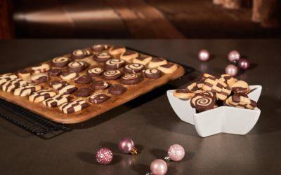 Schwarz-Weiss-Kekse